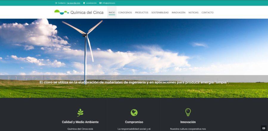 Química del Cinca estrena portal web