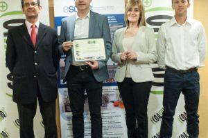 COASHIQ recognition to Química del Cinca